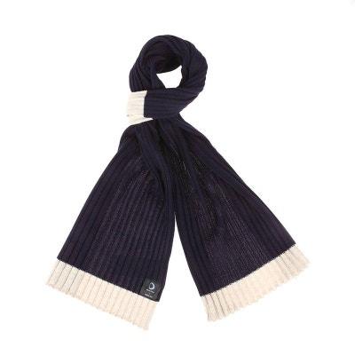 Echarpe en laine mélangé avec 3 rayures Echarpe en laine mélangé avec 3 rayures  ARMOR- f016154d8cb