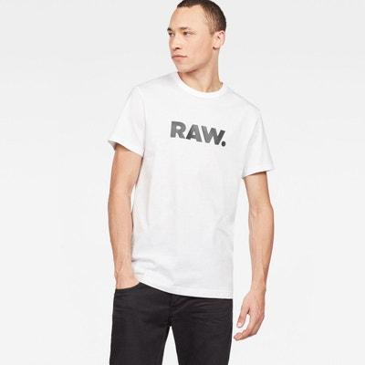 T shirt g star blanc homme | La Redoute