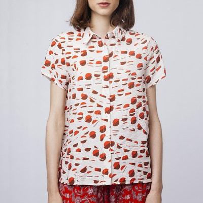 Camisa de manga corta con estampado gráfico Camisa de manga corta con  estampado gráfico COMPANIA FANTASTICA b3f7e7f3c4d1