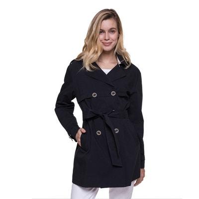 Trench esprit riding coat en coton Trench And Coat | La Redoute