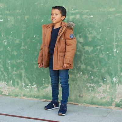 Parka met kap, lijf gevoerd met fleece 3-12 jaar Parka met kap, lijf gevoerd met fleece 3-12 jaar LA REDOUTE COLLECTIONS