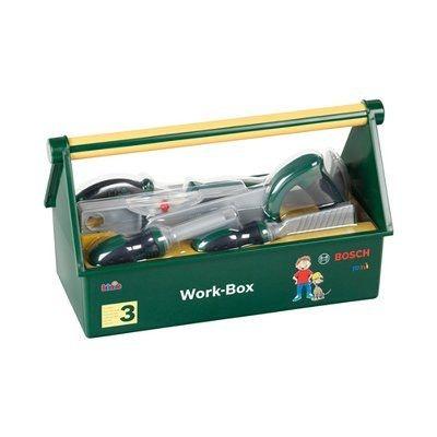 Bosch La boîte à outils avec accessoires atelier Bosch La boîte à outils avec accessoires atelier BOSCH