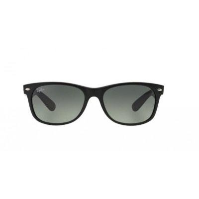 Lunettes de soleil mixte RAY BAN Noir Mat RB 2132 NEW WAYFARER 618371 52 18 67a8b80490da