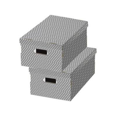 Lot de 2 boîtes «Star» motifs etoiles COMPACTOR 1a0f2d0decaf