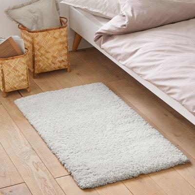 tapis shaggy blanc | la redoute