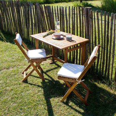Salon de jardin BOIS DESSUS BOIS DESSOUS | La Redoute