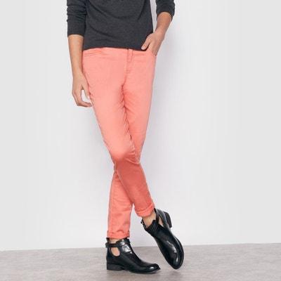 Pantalón slim a color 10-16 años LA REDOUTE COLLECTIONS 7a158df9b7e2