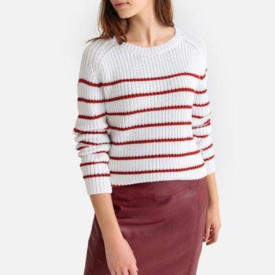 ba6d56622169 Jersey estilo marinero de punto grueso de algodón Jersey estilo marinero de  punto grueso de algodón