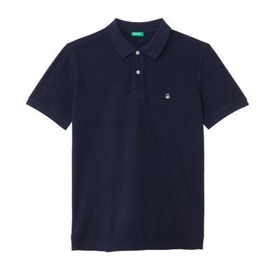 8a3873e11e7f6e Broderie Anglaise Short Sleeved Blouse. £29.00 -35%. £18.85. Cotton Piqué  Straight Cut Polo Shirt Cotton Piqué Straight Cut Polo Shirt BENETTON