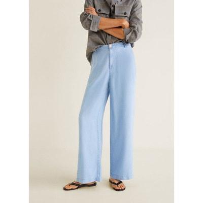 Pantalon palazzo soft Pantalon palazzo soft MANGO 5cab57ef11c9