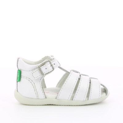 Sandales B/éb/é Cuir Souple 19 /à 25 Chaussures Enfant Gar/çon Chaussons Cuir B/éb/é Spartiates B/éb/é 0-6 Mois /à 2 Ans Chaussures Bebe Fille
