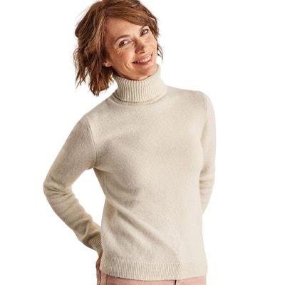 a84fe18d22fa Pull à col roulé laine d agneau Pull à col roulé laine ...