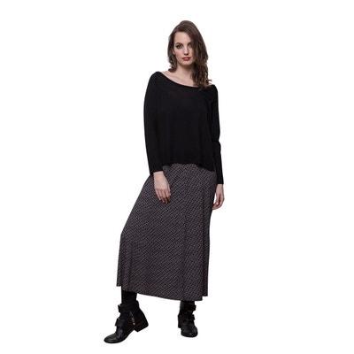 d689c959590 Pull en laine mérinos noir Pull en laine mérinos noir CHEMINS BLANCS