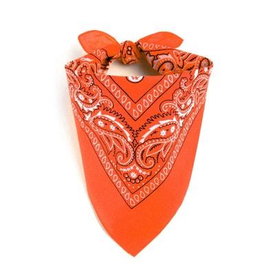 846275a541d Foulard bandana orange Foulard bandana orange ALLEE DU FOULARD. «