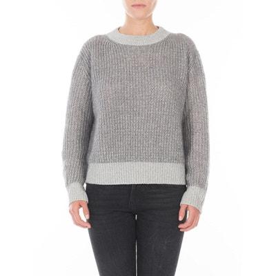 bb769b7a619 Gros pull oversize en laine Mohair et maille Fil textile® Montreal MAISON  LUREX