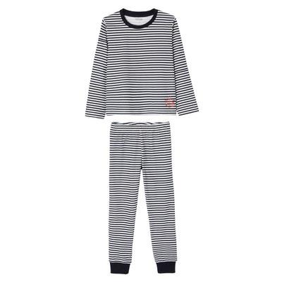 040a4ddf07db6 Lot de 2 pyjamas garçon combinables Lot de 2 pyjamas garçon combinables  VERTBAUDET