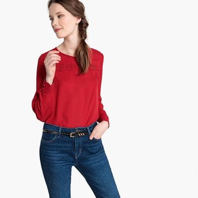 femmeLa Redoute Redoute femmeLa femmeLa Blouse Redoute Blouse rouge Blouse Blouse rouge rouge jA54RL