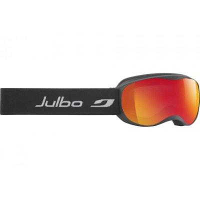 Masque de ski pour enfant JULBO Noir ATMO Noir Orange Spectron 3 Miroir  Masque de ski 7336c9d3a96c