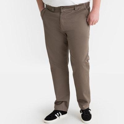 22865432dbe Pantalon chino regular côtés élastiqués Pantalon chino regular côtés  élastiqués CASTALUNA FOR MEN