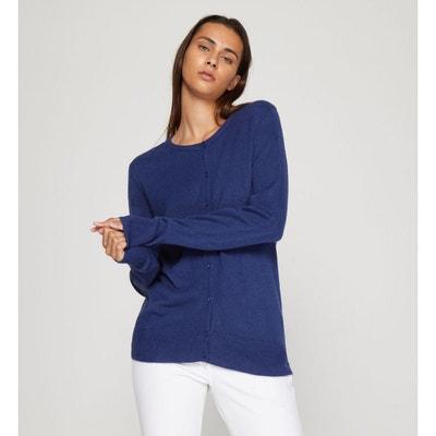 f8c1e9b7d Cardigan bleu marine femme | La Redoute