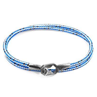 ba866f7460f538 Bracelet Tenby Argent et Corde Bracelet Tenby Argent et Corde ANCHOR   CREW