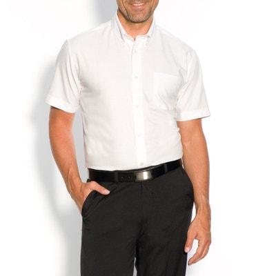 Short-Sleeved Oxford Cotton Shirt Short-Sleeved Oxford Cotton Shirt CASTALUNA MEN'S BIG & TALL
