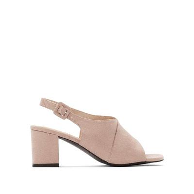 Sandales talon rose | La Redoute