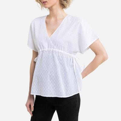 Zwangerschap blouse in Engels kant Zwangerschap blouse in Engels kant LA REDOUTE COLLECTIONS