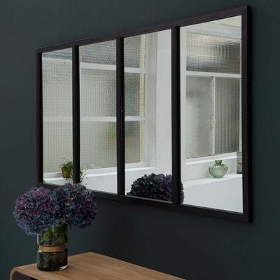 e50e16a10842c1 Miroir fer noir | La Redoute