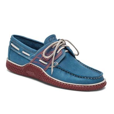 d95b53a7362f Chaussures bateau cuir GLOBEK TBS