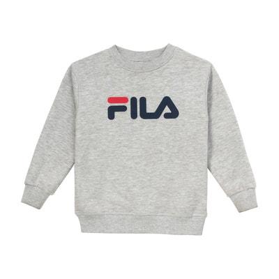 Sweat shirt tivka crew shirt molletoné Fila   La Redoute