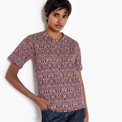 24afc3b8d96 Tee-shirt jacquard brillant Tee-shirt jacquard brillant LA REDOUTE  COLLECTIONS