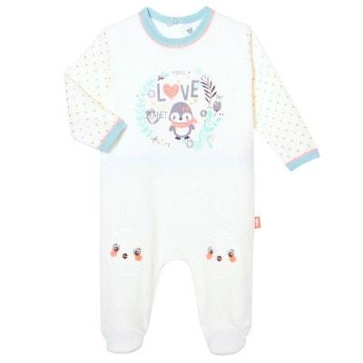 fb28d736223ad Pyjama bébé velours Love Planet PETIT BEGUIN