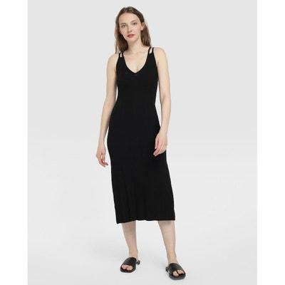 e680af3cc83 Robe longue en maille Robe longue en maille FORMULA JOVEN