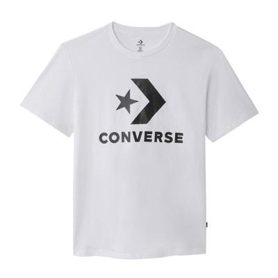 c51c69e90e8b Printed Short-Sleeved Crew Neck T-Shirt Printed Short-Sleeved Crew Neck T.  CONVERSE