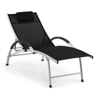 solde chaise longue de jardin