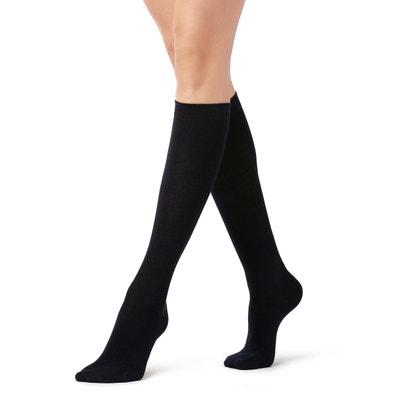 3af54936185b8 Chaussettes longues en coton rasé Chaussettes longues en coton rasé  CALZEDONIA