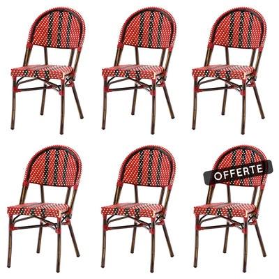 Salon de jardin - Table, chaises Rotin design | La Redoute