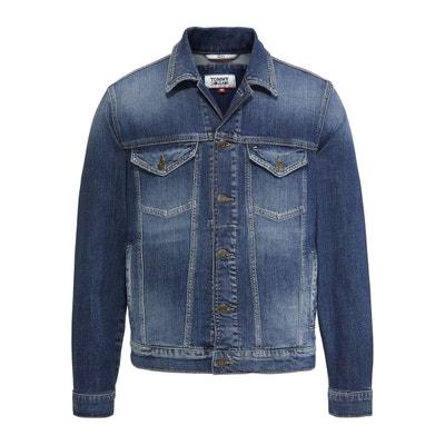 3931582fc03e Veste en jean coupe droite Veste en jean coupe droite TOMMY JEANS