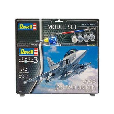 1fde54ae2f Maquette Avion   Model Set   Saab JAS-39D Gripen REVELL