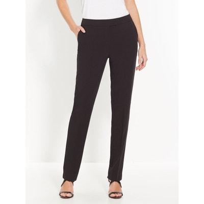 pantalon femme noir chic
