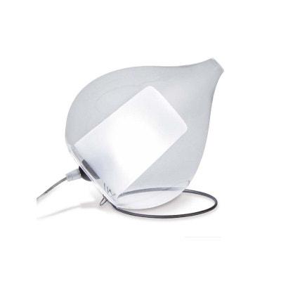 Lampe de chevet pied transparent | La Redoute