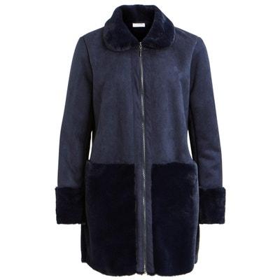 Пальто прямое с накладными карманами и воротником Пальто прямое с накладными карманами и воротником VILA