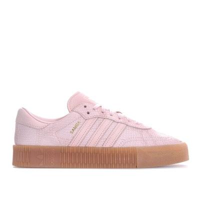 check-out 3b131 1c60f Basket adidas femme blanche et rose | La Redoute