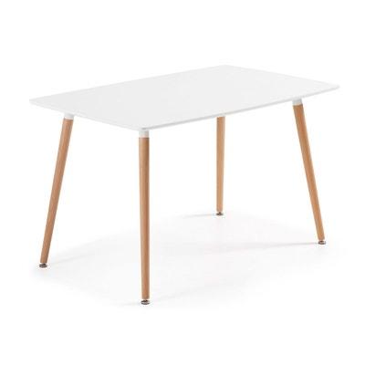NARDI Table de jardin Toscana 120 Plastique Blanc 120x80cm