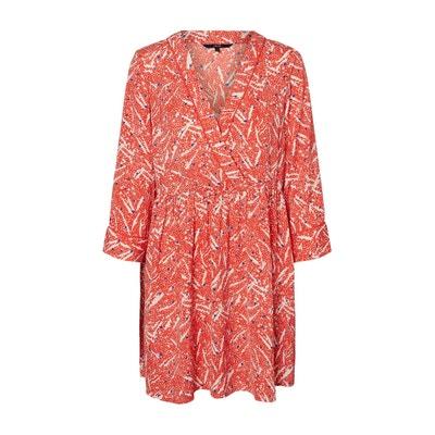 Printed Wrapover Dress Printed Wrapover Dress VERO MODA