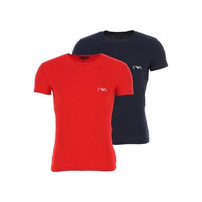 6de579d6199 Lot de 2 Tee-shirts EA7 Emporio Armani - Ref. 111670-9P715-