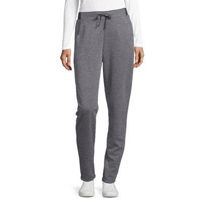 Pantalons crepe elastique taille en solde   La Redoute ef5d4b89bbb