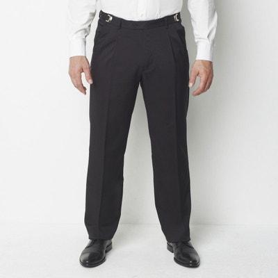82e958fe4e55 Pantalon de costume taille réglable Pantalon de costume taille réglable  CASTALUNA FOR MEN