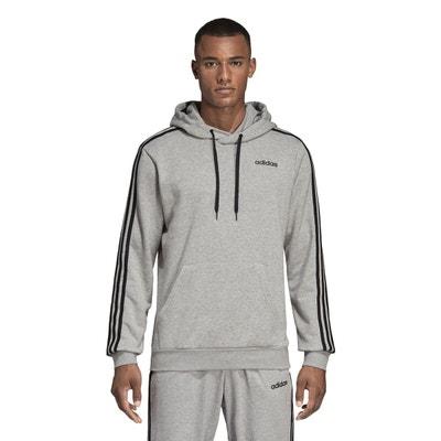 Veste à capuche athletics id stadium gris Adidas Performance